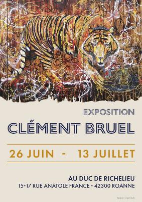 Clement Bruel, Affiche expo